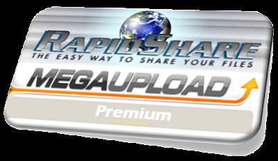 Descarga de Rapidshare y Megaupload como Premium