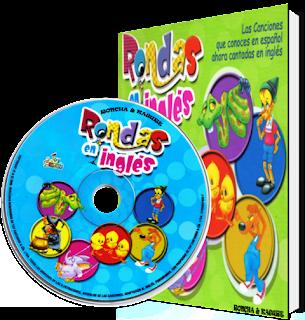 Rondas en Inglés musica infantil [CD + Libro]