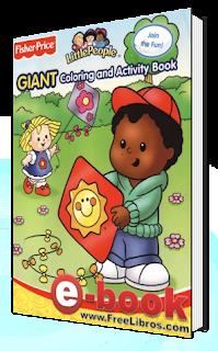 Libro para Colorear de Little People