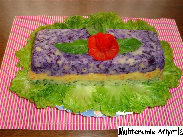 mor lahanalı salata