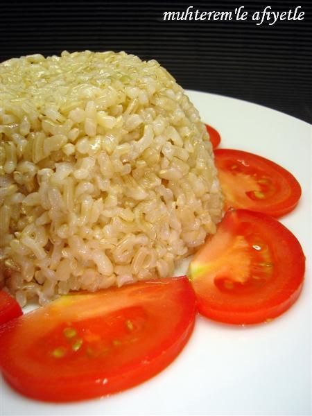 kahverengi pirinç pilavı tarifi