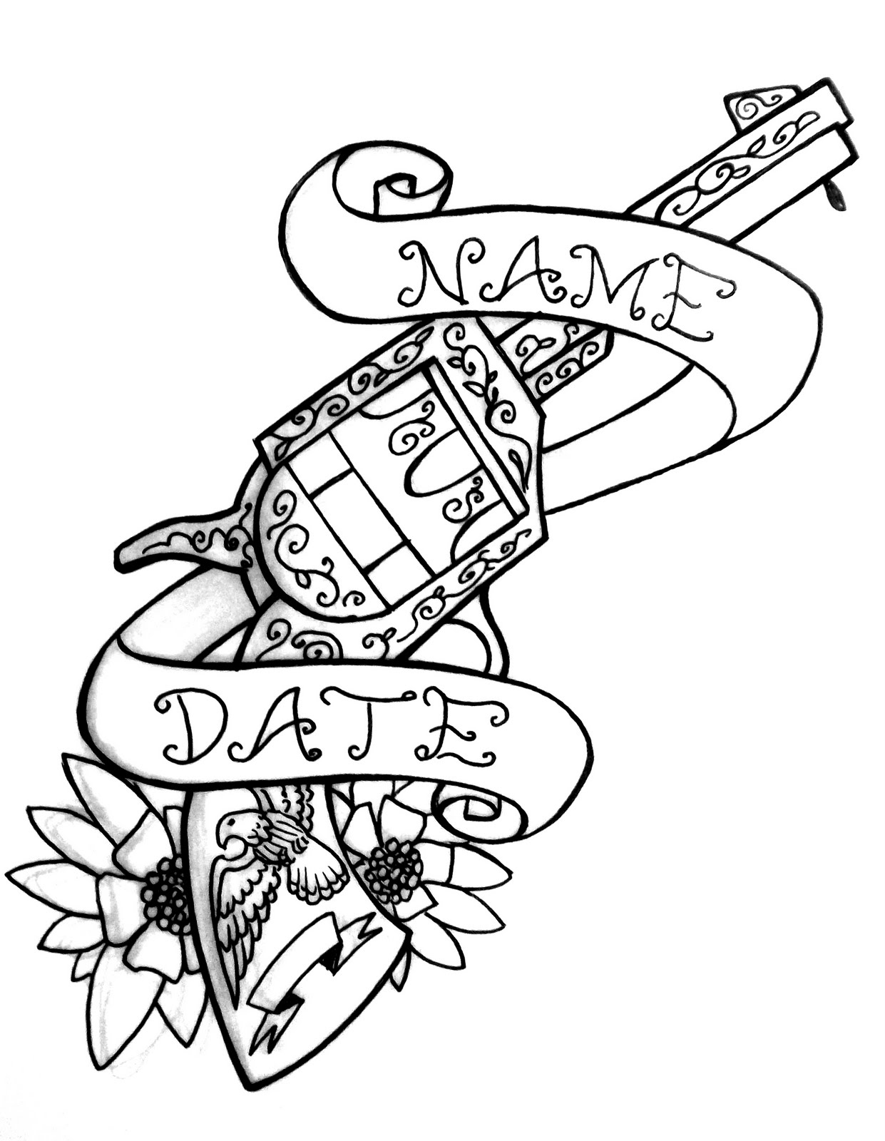 Coloring pages of random designs ~ 30 Random Tattoo Designs in 30 Days: September 2010