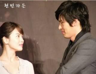 LovingKimchi: Song Hye Kyo and Hyun Bin are off the market!!!