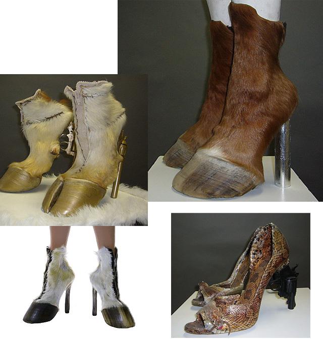 100% autentico 7d801 71f82 Say Hi! To Design: Iris Schieferstein - Craaaazy Animal Shoes