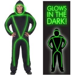 GlowMan Adult Costume  sc 1 th 225 & Tron Costumes