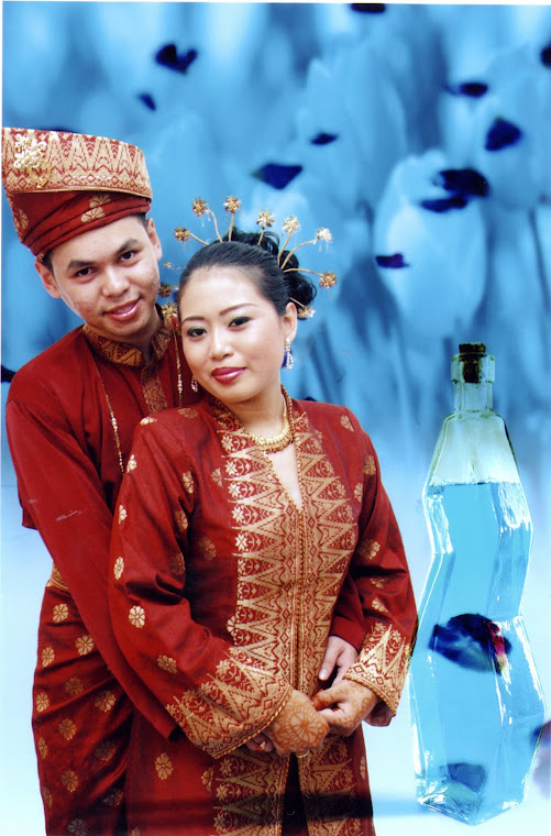 Typical Malay Bride & Groom