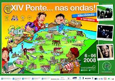 XIV transmisión simultánea de PONTE NAS ONDAS
