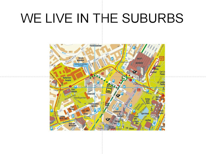 WE LIVE IN THE SUBURBS