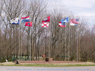 Trail of Tears park, Hopkinsville