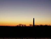 Jefferson Davis Monument at sunrise