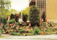 Garden gnome mound