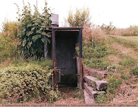 Entrance to a Kansas storm cellar