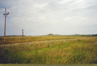 Near Mellette County, South Dakota
