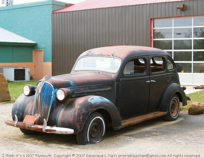 Prairie bluestem 1937 plymouth 4 door sedan for 1930 plymouth 4 door sedan