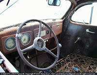 Interior, 1937 Plymouth 4-door sedan