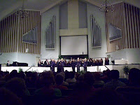Hopkinsville High School choir concert