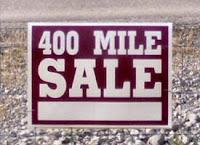 400 Mile Sale