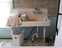 Kitchen sink in a Victorian home, Hopkinsville, KY