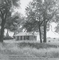 Duff Valley School in southern Rock County, Nebraska, 1965