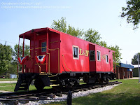 L&N caboose in Guthry, Kentucky
