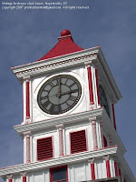 Old clock tower in Hopkinsville, KY