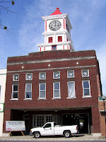 Old fire station and clock tower, Hopkinsville, KY