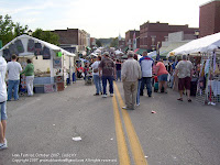 Main Street of Cadiz, Country Ham Festival 2007