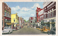 Hopkinsville KY Main Street, just after World War II