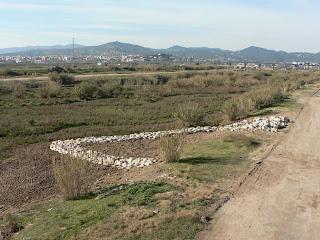 Deflector al riu Llobregat