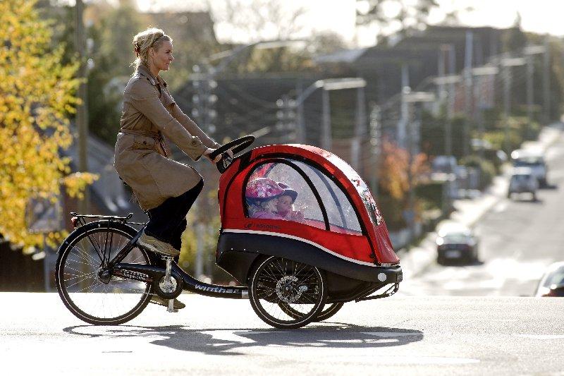 Bici Vici Bicicleta Winther Kangaroo Per Portar Nens