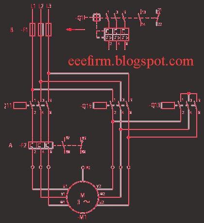 Circuit Diagram 3 Phase Star Delta Starter Wiring Diagram