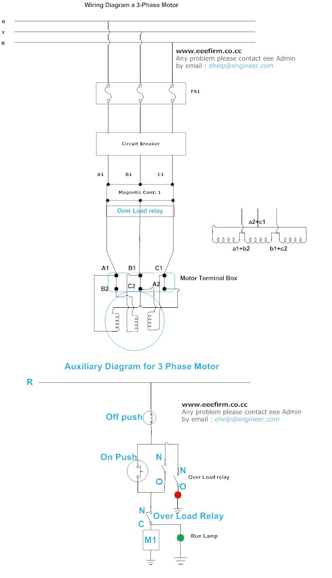 hight resolution of 3 phase motor connection delta