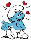 Romantic Smurf