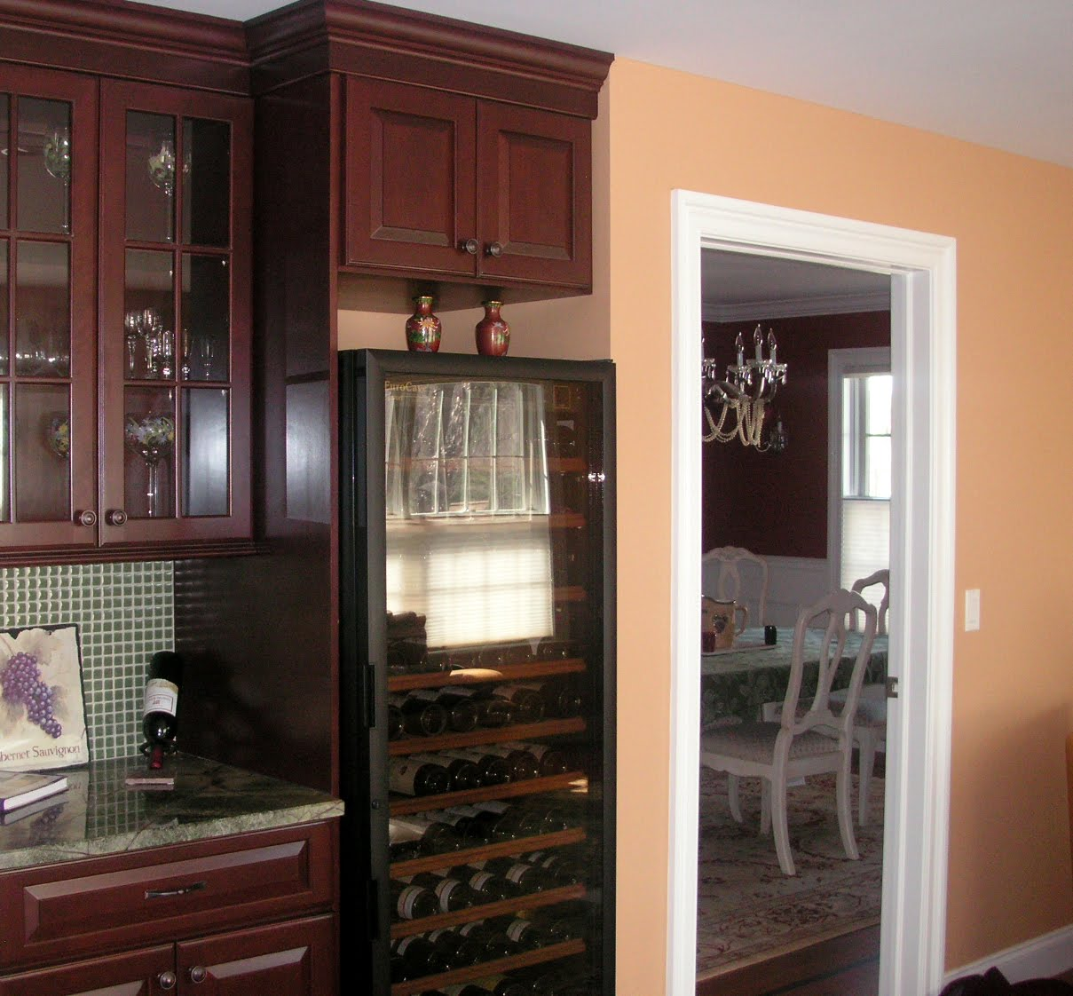 Tuscan Interior Paint Colors: Color Forte: Benjamin Moore Tuscan Tan & Spanish Red Paint