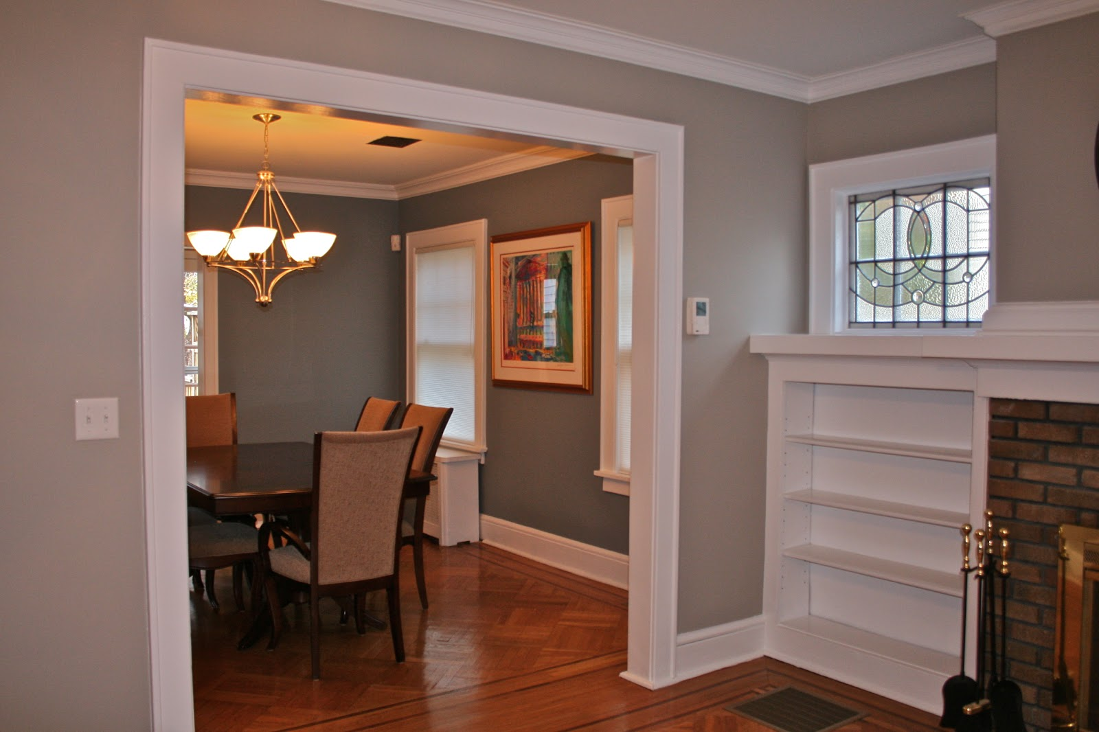 modern black and grey maple cabinets and best paint color that has