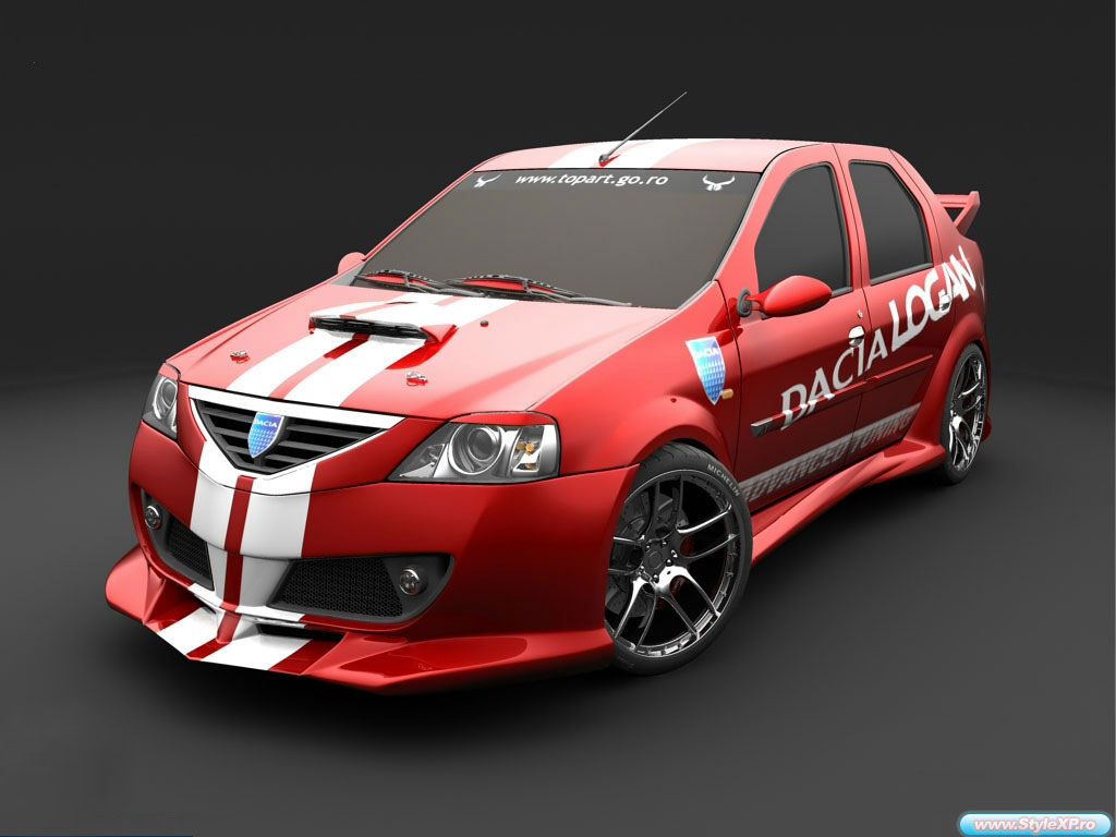 dacia logan tuning photoshop tuning virtual tuning. Black Bedroom Furniture Sets. Home Design Ideas