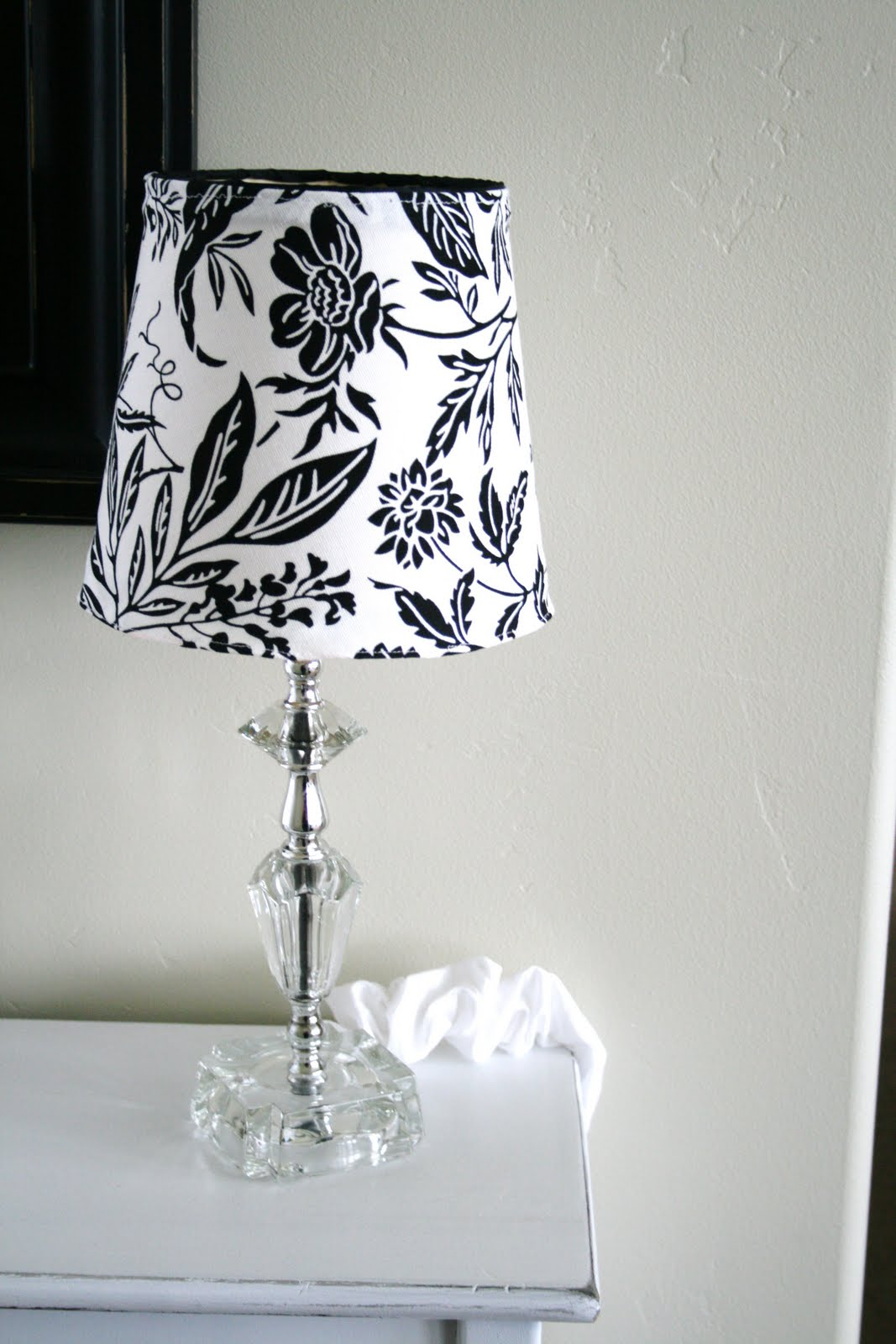 Diy Lampshade Cover Slip Cover For Lampshade Tutorial