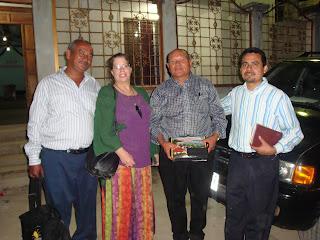 International Mission Trip Honduras - Sharing the gospel at David's church