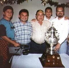 """Con la Copa de 1a. Div. """"A"""" 1998"""