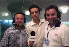 En la cabina fútbol 92.1 FM 2004