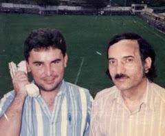 """En el estadio """"Chino Rivas"""" 1993"""