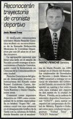 "Nota ""Premio Fray Nano"" 2005"
