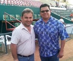 Con Fernando Valenzuela 2008