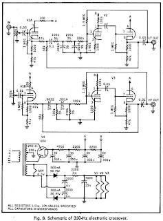 350Hz Crossover Schematic