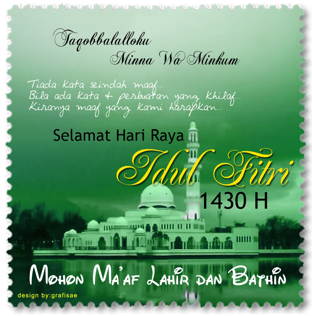 Kumpulan Cerpenku: Selamat Idul Fitri 1431 Hijriah/2010 Masehi