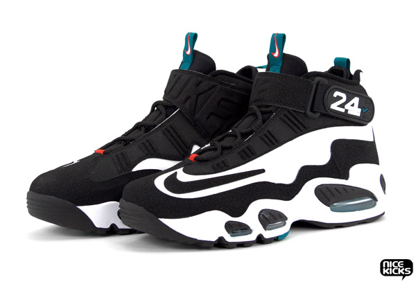 539c4d98e2 Junior Hangs 'em Up. product ... Back Bo Jackson and Ken Griffey Jr.  Sneakers for MLB All- ... Griffey Jr II model. Serious old school flavor!  Available ...