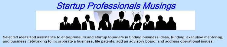 Startup Professionals Musings
