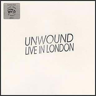 Dusty Psychic Hut: unwound - live in london ep
