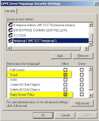 Security Filtering and Group Policy ~ My blog about Active