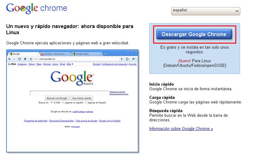 Cómo instalar Google Chrome en Ubuntu | No solo Unix | GNU Linux